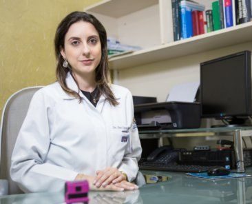 Anne Karina Kiister, médica