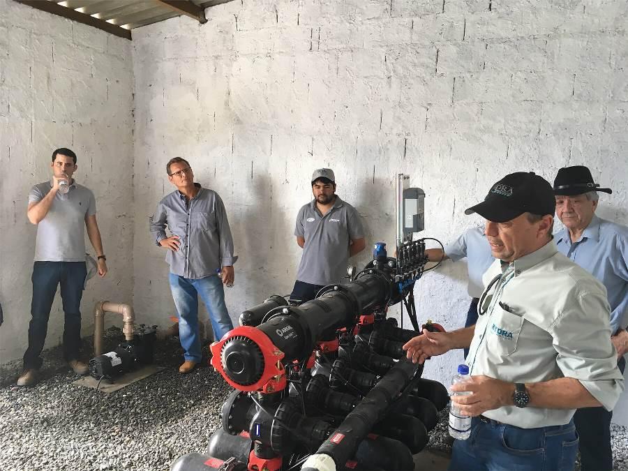 Irrigação em canaviais aumenta a produtividade e amplia o tempo de vida da plantação
