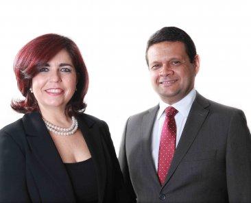 Danielle Quintanilha e Adriano Salvi