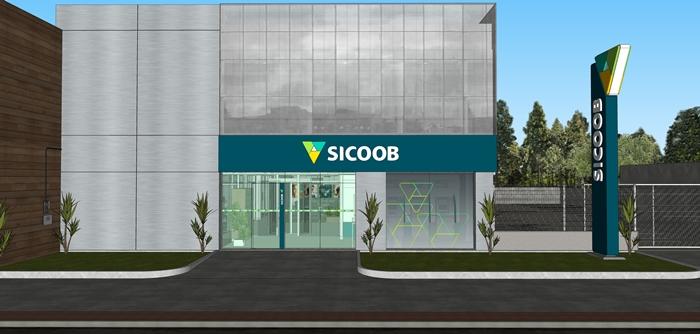 Projeção 3D - Sicoob Vitória