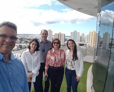 Equipe do Sicoob visita FindesLab